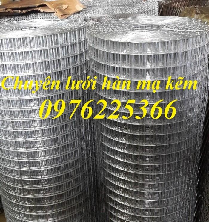 Lưới thép hàn mạ kẽm D3 a50x50, D4 a50x50, D2,5 a50x50, D2 a50x504