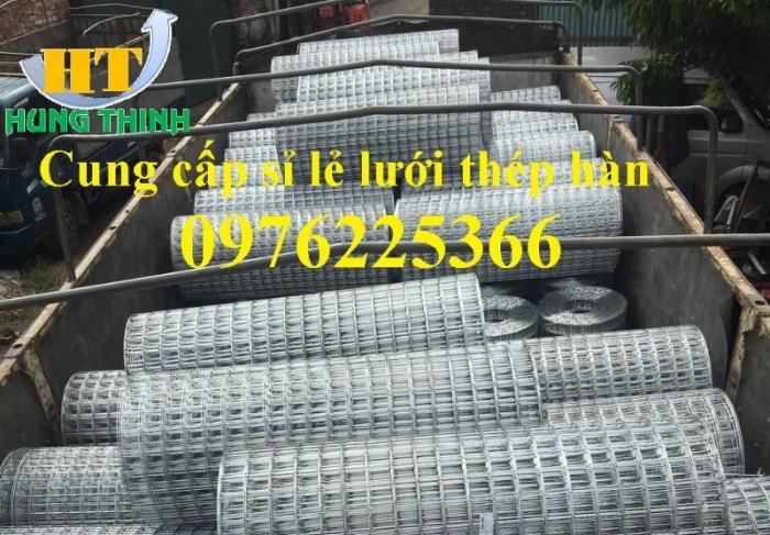 Lưới thép hàn mạ kẽm D3 a50x50, D4 a50x50, D2,5 a50x50, D2 a50x506