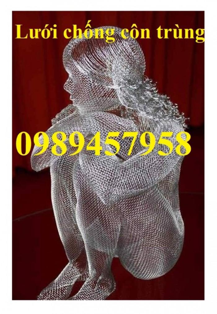 Lưới chống muỗi, lưới chắn muỗi, lưới inox 304 khổ 1,5mx30m