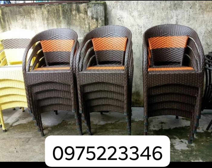 Xả lô ghế mây giá cực rẻ.0