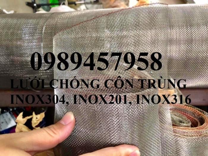 Lưới chống côn trùng - lưới chống muỗi inox lưới đan, lưới dệt 304 và 3160