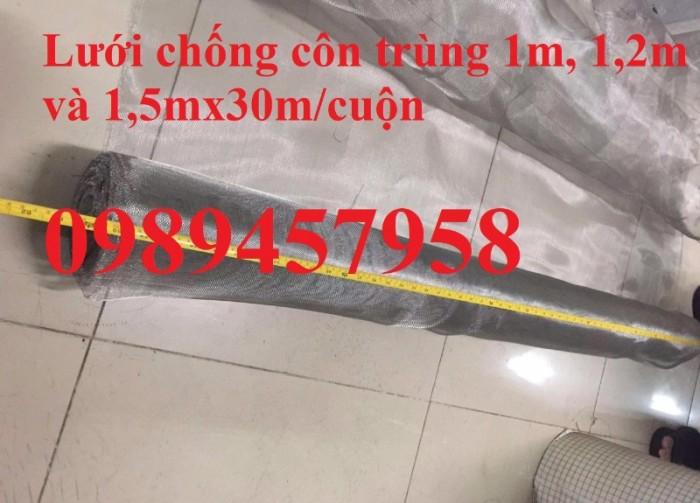 Lưới chống côn trùng - lưới chống muỗi inox lưới đan, lưới dệt 304 và 3161