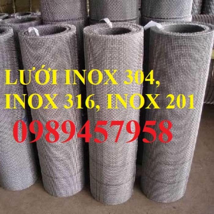 Lưới chống côn trùng - lưới chống muỗi inox lưới đan, lưới dệt 304 và 3162