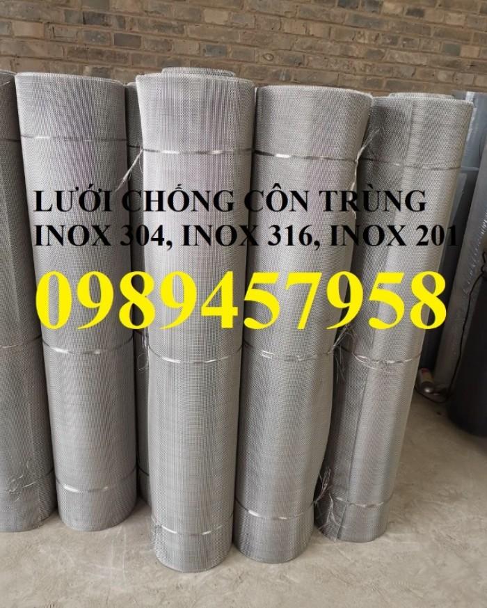 Lưới inox 304 chống côn trùng - lưới dệt - lưới đan giá rẻ1