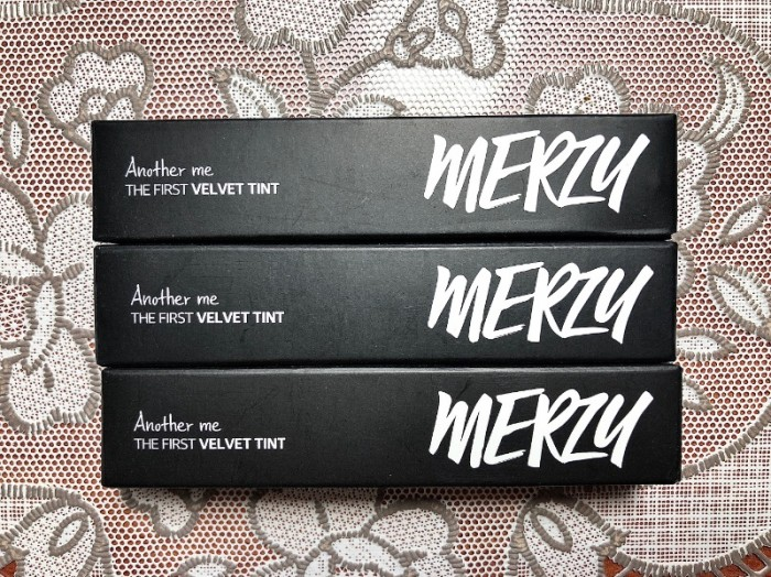Son kem lì Merzy Another Me The First Velvet Tint xách tay Hàn Quốc4