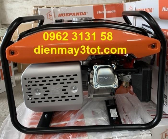Máy phát điện chạy xăng 3kw Huspanda H3600 giá rẻ cho gia đình2