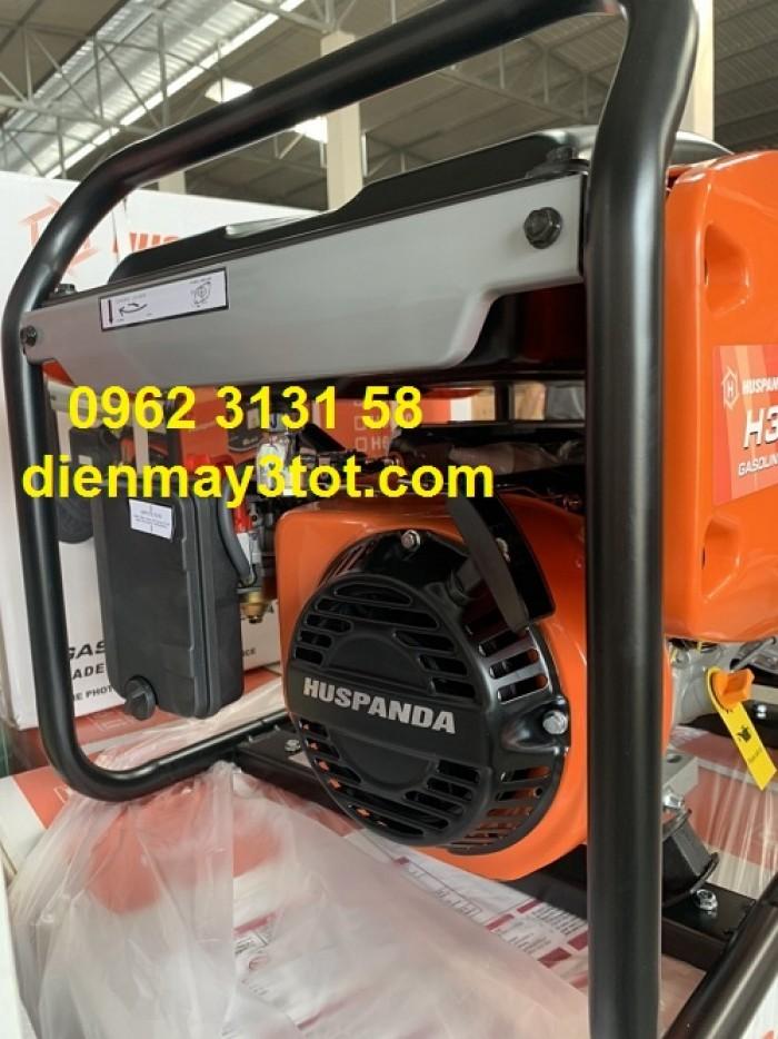 Máy phát điện chạy xăng 3kw Huspanda H3600 giá rẻ cho gia đình3