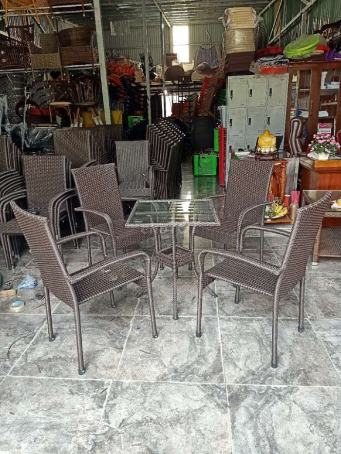 Bàn ghế cafe thanh lý giá rẻ hàng mới