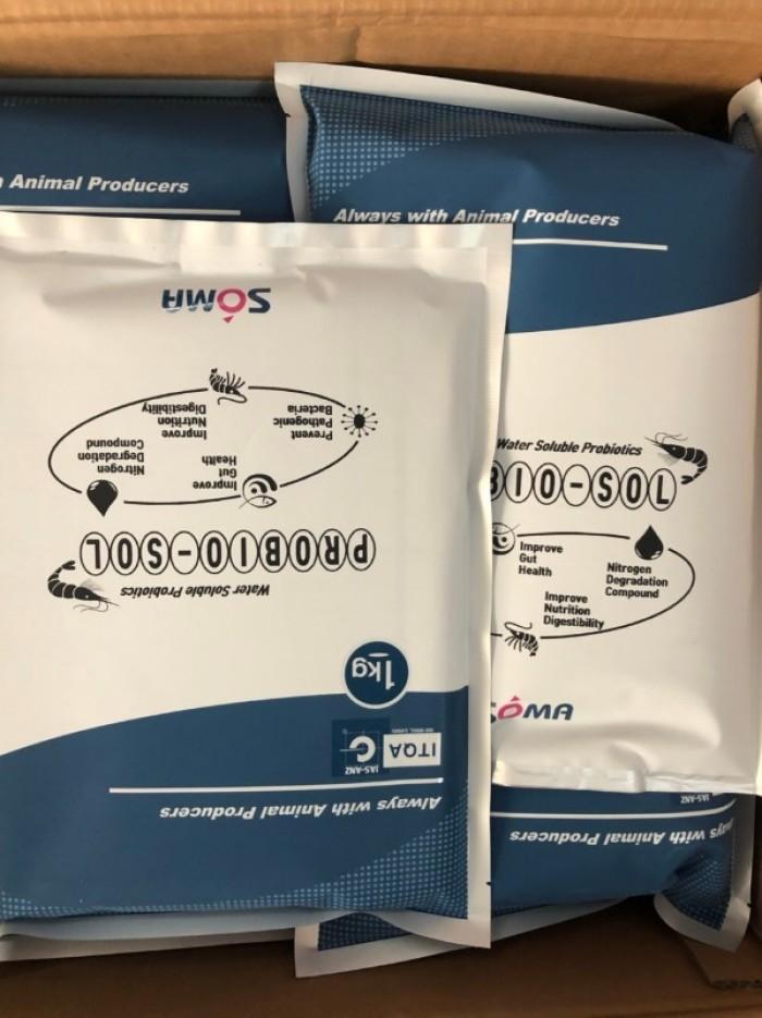 Phân phối men vi sinh xư lý nước và xử lý đáy probio-sol4