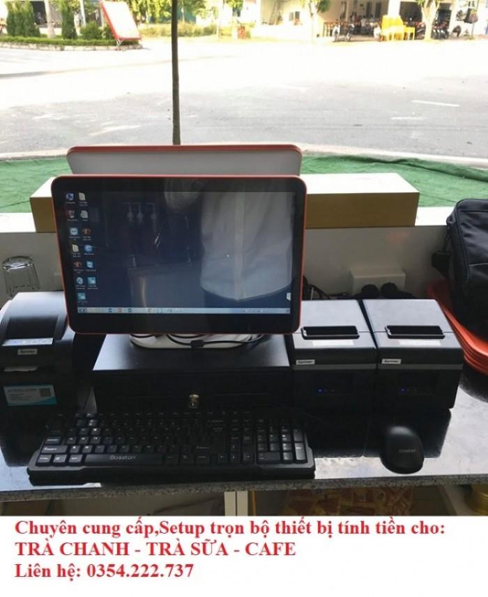 Thanh lý máy tính tiền cho Coffee- Trà Sữa- Trà Chanh giá rẻ1