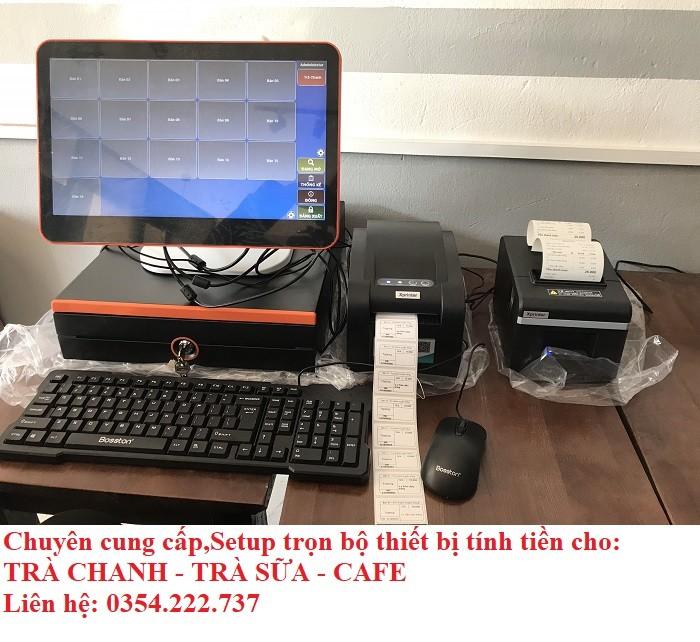 Thanh lý máy tính tiền cho Coffee- Trà Sữa- Trà Chanh giá rẻ0