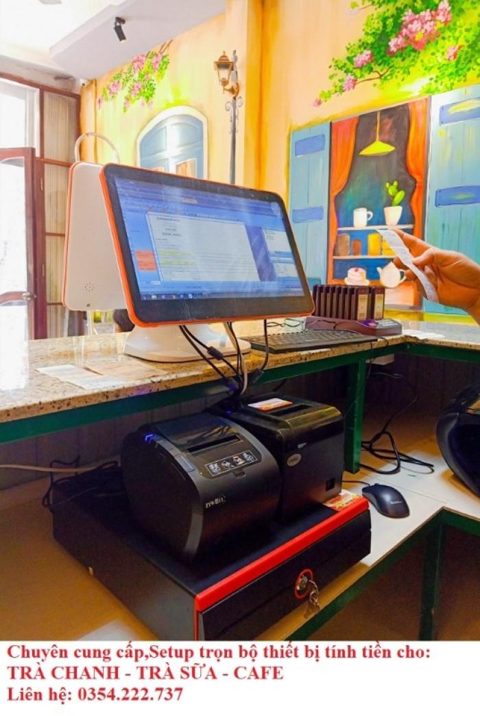 Thanh lý máy tính tiền cho Coffee- Trà Sữa- Trà Chanh giá rẻ2