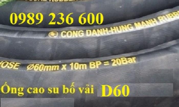 Ống cao su Công Danh Hùng Mạnh sẵn kho tại Hà Nội1