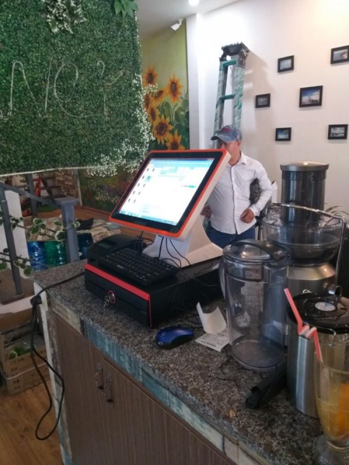 Lắp đặt máy tính tiền cho Coffee- Trà Sữa- Trà Chanh giá rẻ2