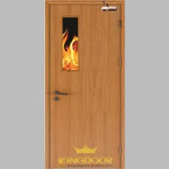 Cửa gỗ Chông cháy chất lượng0