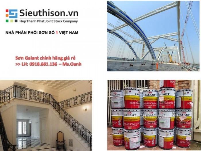 Nhà cung cấp sơn dầu Galant chính hãng giá rẻ tại TPHCM0