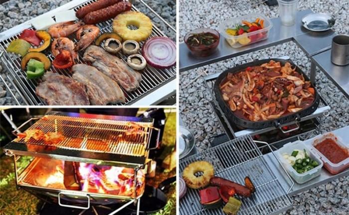 Bếp nướng dã ngoại Campingmoon MT-0452