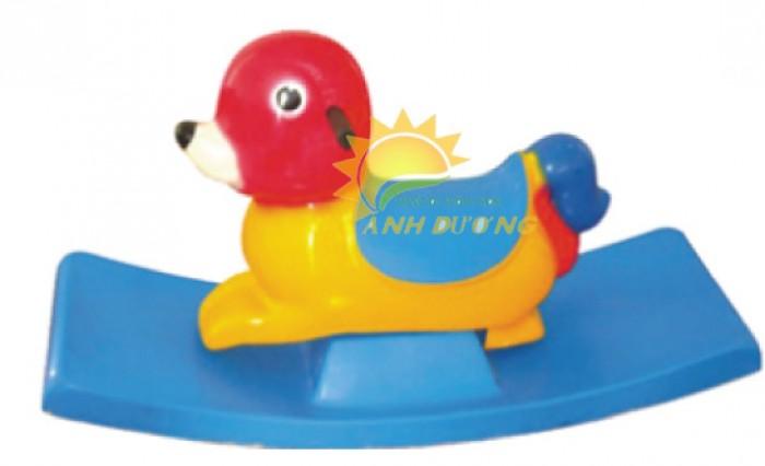 Đồ chơi bập bênh hình con thú đáng yêu cho trẻ em mầm non8