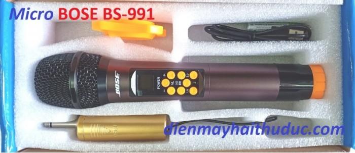 Micro Không Dây Bose BS-991 Sử dụng pin AA, đầu thu pin sạc 3.7V có tặng kèm theo , 0