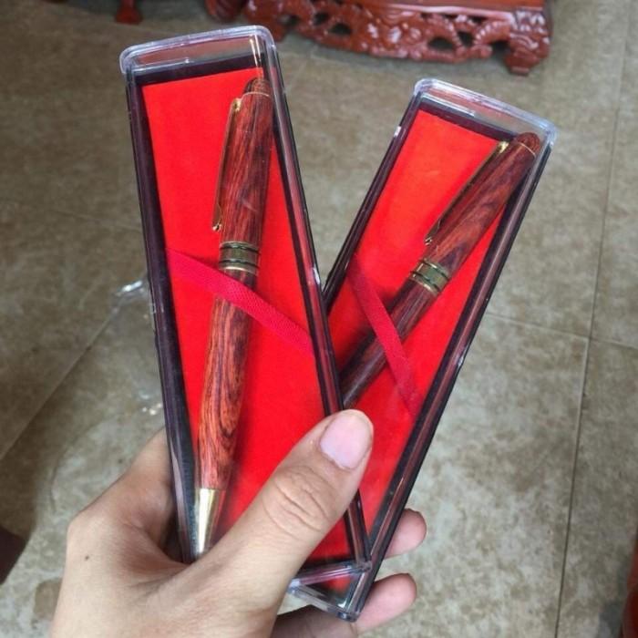Bút bi gỗ sưa đỏ1