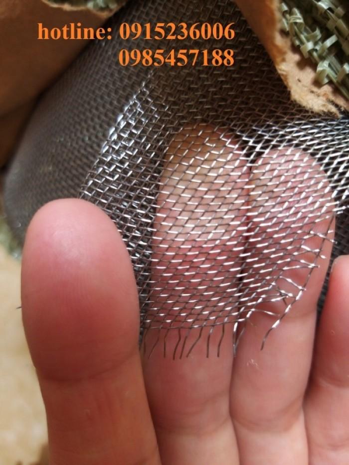 Lưới chống muỗi, chống côn trùng, lưới 304, inox 201, inox 316 hàng sẵn kho2