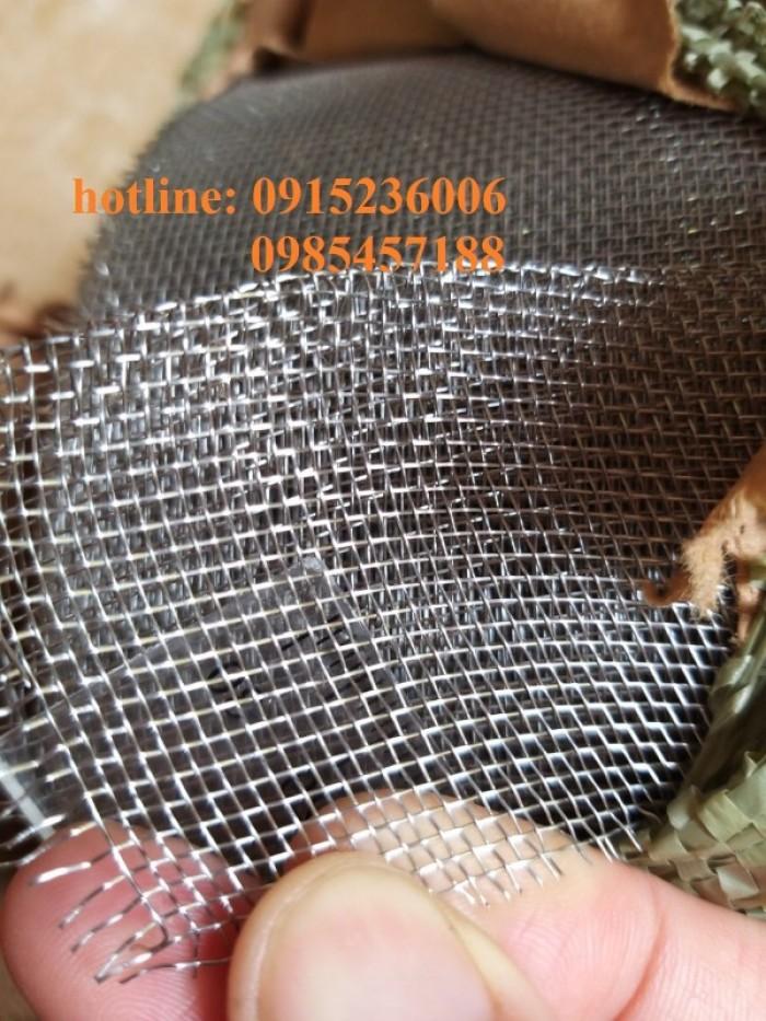Lưới chống muỗi, chống côn trùng, lưới 304, inox 201, inox 316 hàng sẵn kho4