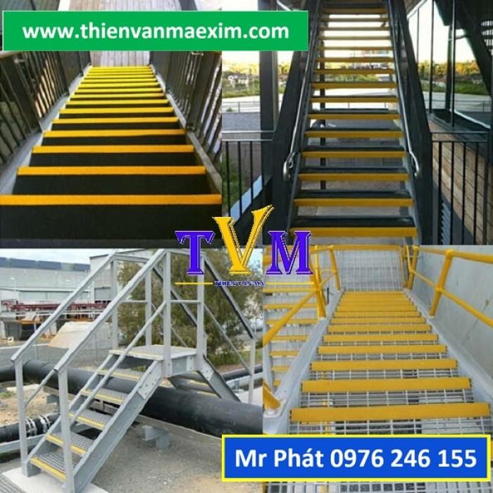 Miếng ốp bậc thang frp chống trơn trượt6