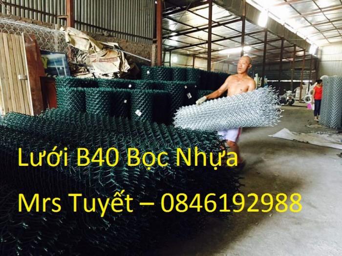 Lưới B40 Bọc nhựa giá rẻ tại Hà Nội1