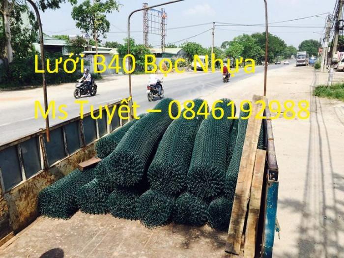 Lưới B40 Bọc nhựa giá rẻ tại Hà Nội0