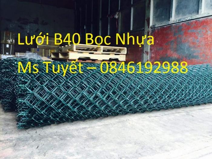 Lưới B40 Bọc nhựa giá rẻ tại Hà Nội2