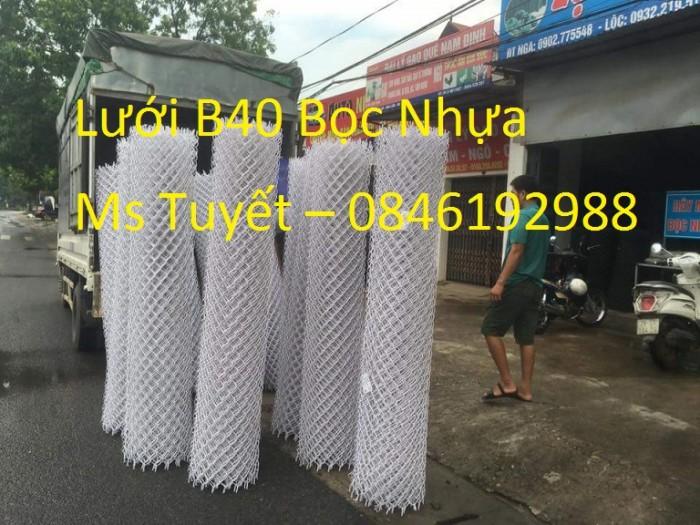 Lưới B40 Bọc nhựa giá rẻ tại Hà Nội4