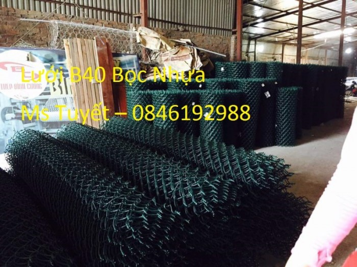 Lưới B40 Bọc nhựa giá rẻ tại Hà Nội7