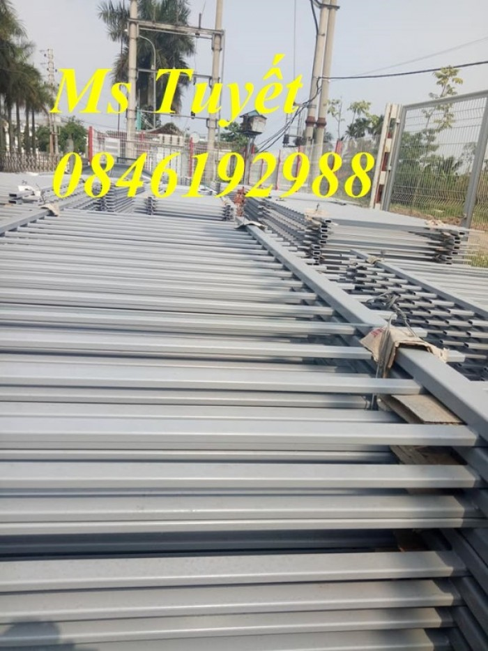 Luới hàng rào D5 ô 50*150 mạ kẽm Nhúng nóng, mạ kẽm điện phân, sơn tĩnh điện5