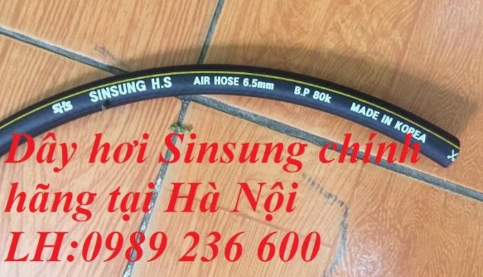 Dây hơi Sinsung, dây hàn đôi Sinsung D6.5, D8, D9.5,D13, D13, D16, D19, D25..0