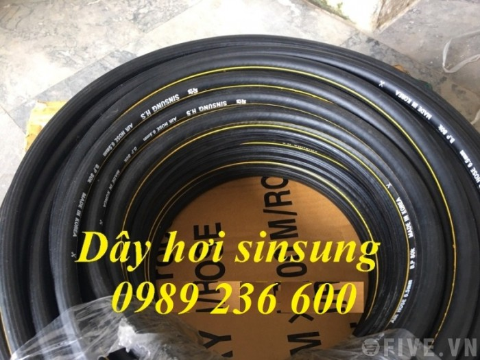 Dây hơi Sinsung, dây hàn đôi Sinsung D6.5, D8, D9.5,D13, D13, D16, D19, D25..3