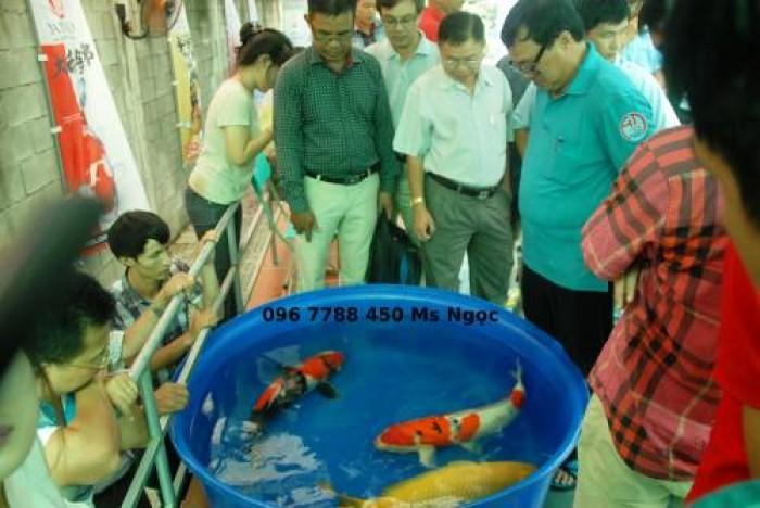 Bồn tròn 2000 lít nuôi cá cảnh3