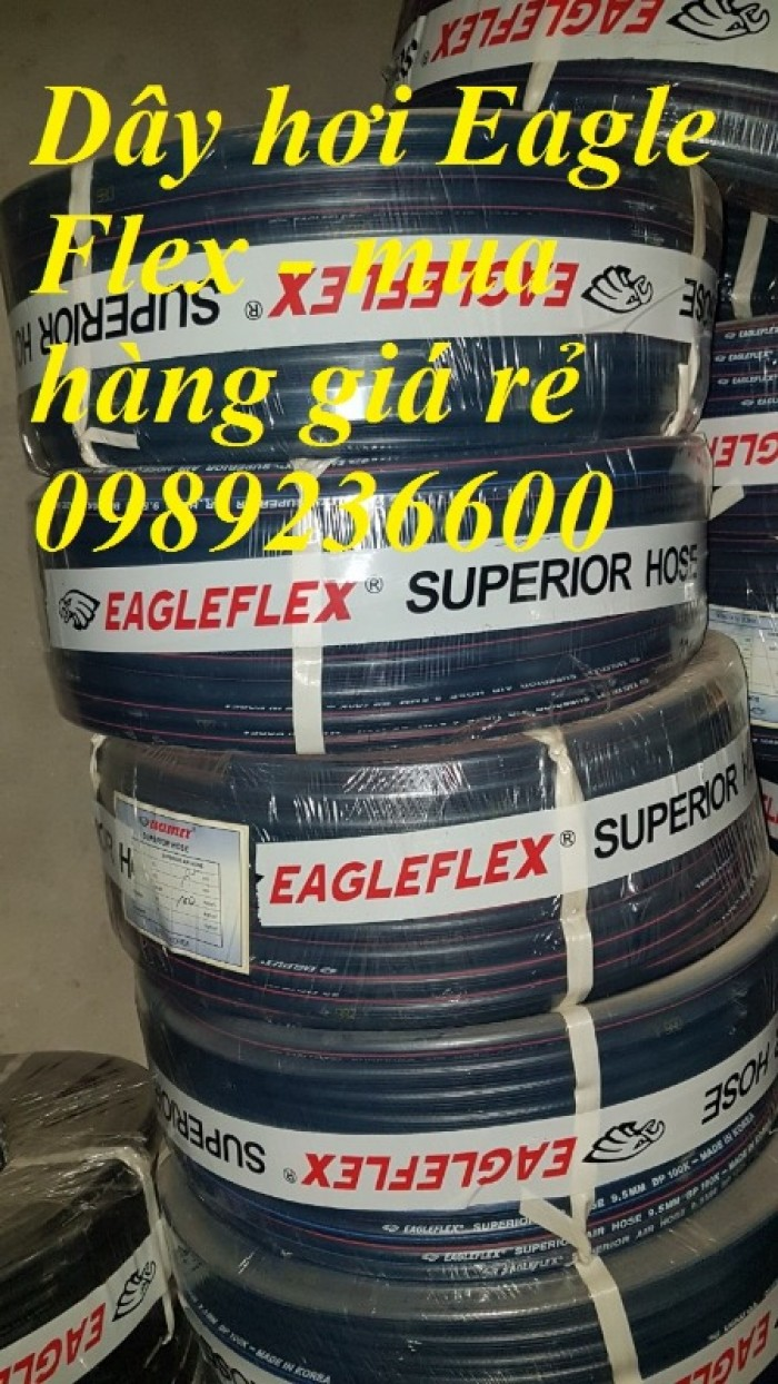 Dây hơi Eagle Flex Hàn Quốc D6.5; D8; D9.5, D13, D16, D19, D25, D32 giá rẻ1