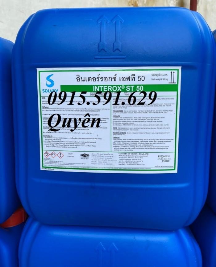 Nơi bán Oxi già H2O2 (Thái Lan-50%-35kg)2