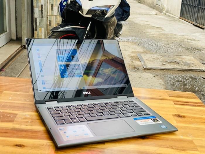Laptop Dell Inspiron 5379, i5 8250U 8G SSD256 Full HD Đèn phím Touch Xoay 3601
