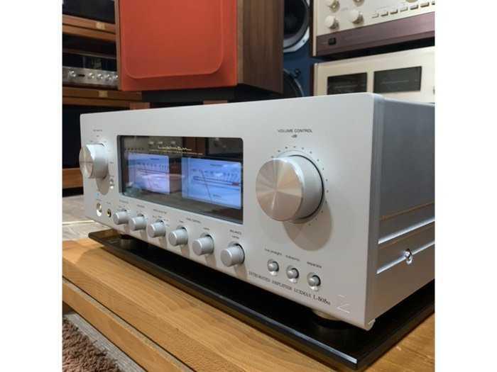 Ampli Luxman L-505U ( Silver )3