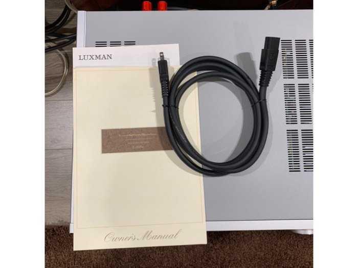 Ampli Luxman L-505U ( Silver )4