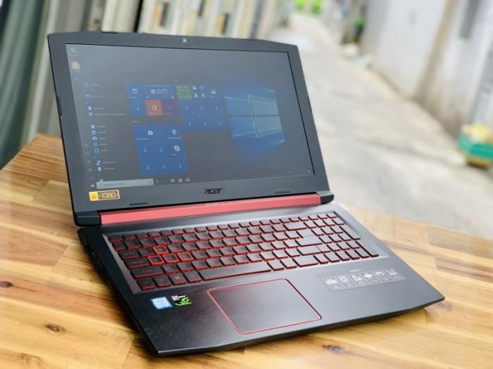 Laptop Gaming Acer Nitro 5 AN515-52, i7 8750HQ 8G SSD128+1000G Vga GTX1050TI1