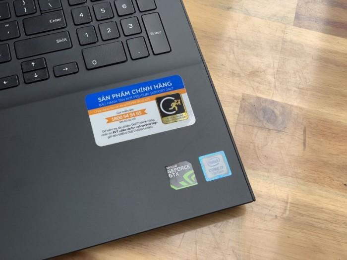 Laptop Dell Gaming 7567, i7 7700HQ 8G SSD128+1000G Vga GTX1050ti 4G Full HD Đ6