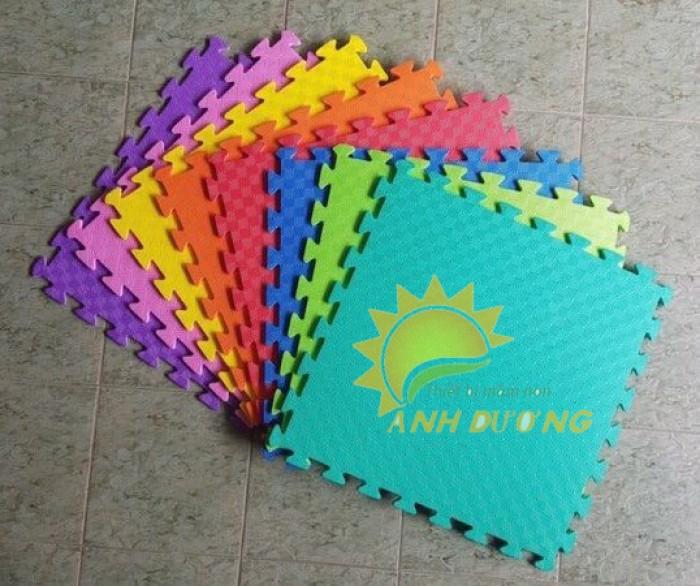 Chuyên bán thảm xốp lót sàn nhiều màu sắc cho trường mầm non, sân chơi trẻ em