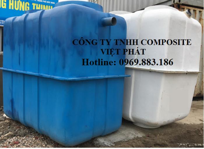 Bể phốt composite Việt Phát, Bán bể phốt tự hoại2