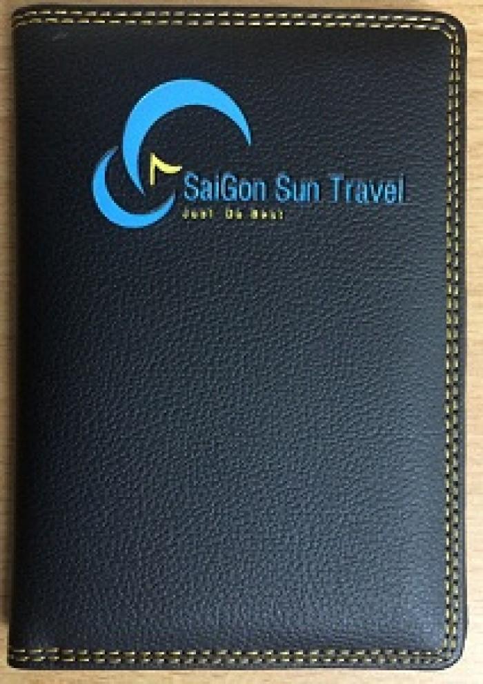 Vỏ Passport Da In Dập Logo Thương Hiệu, Quảng Cáo Thương Hiệu5