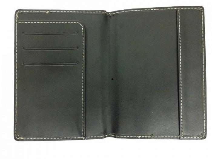 Vỏ Passport Da In Dập Logo Thương Hiệu, Quảng Cáo Thương Hiệu0