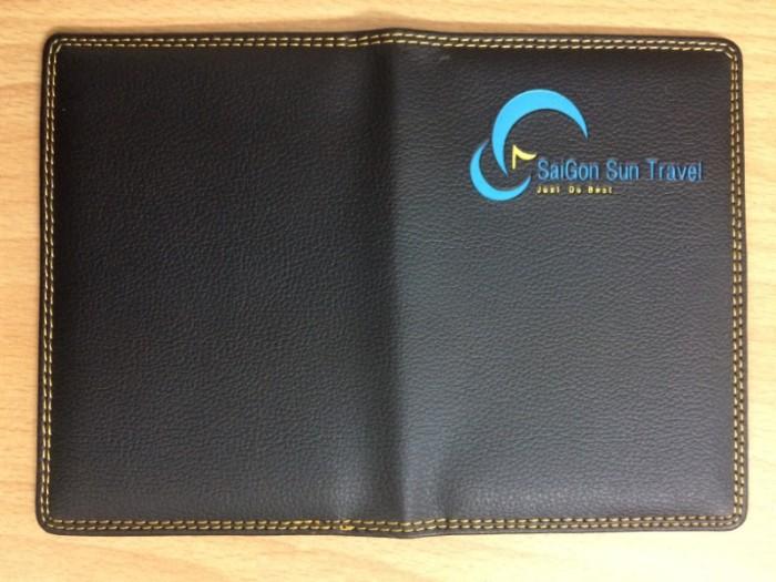 Vỏ Passport Da In Dập Logo Thương Hiệu, Quảng Cáo Thương Hiệu8