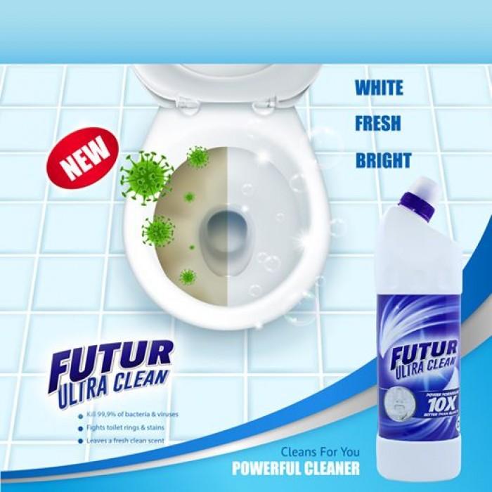 Thùng Tẩy Toilet Futur 16 chai0