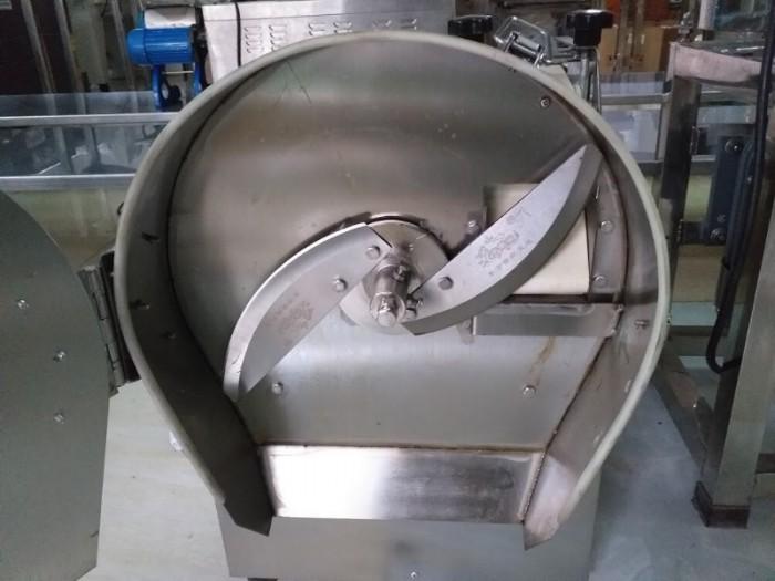 Máy cắt hành lá tự động, máy cắt hành lá, máy thái hành lá công nghiệp1